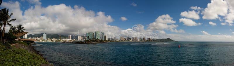 Tête de Honolulu et de diamant photographie stock libre de droits