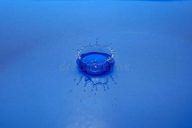 Tête de l'eau image stock