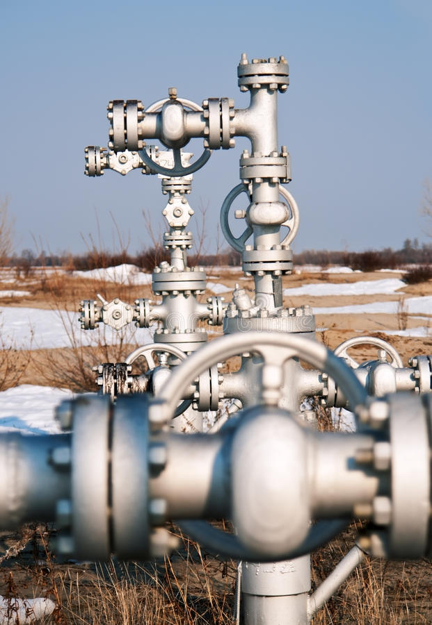 Tête de puits image stock