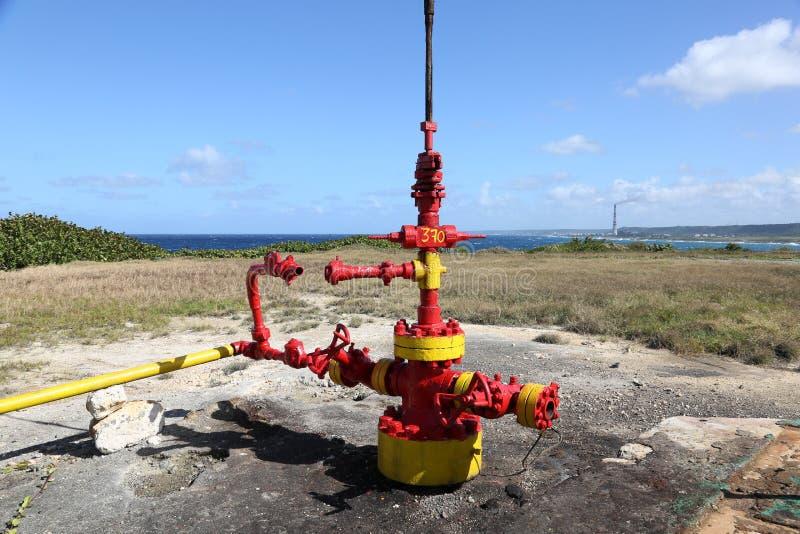Tête de puits au Cuba photographie stock libre de droits