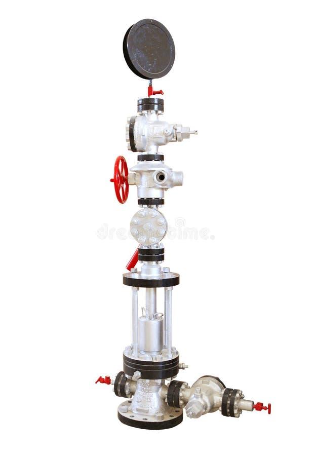Tête de puits de puits de pétrole photo stock