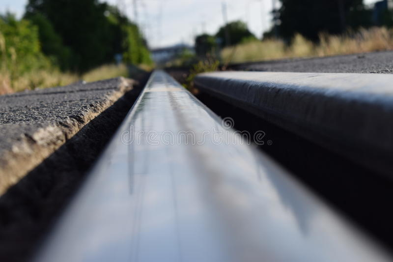Tête de rail images stock