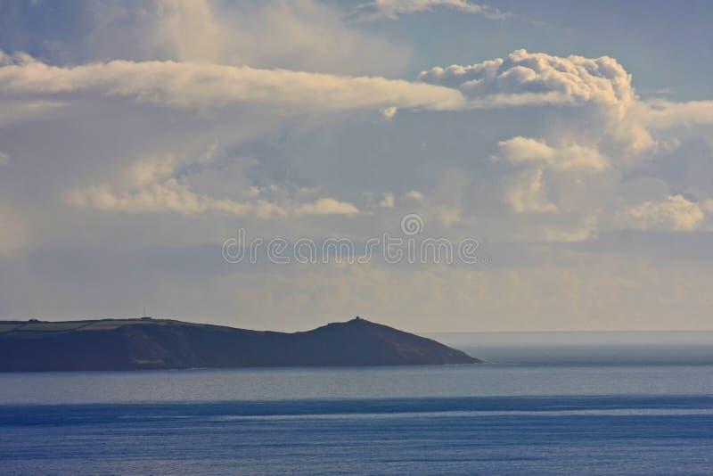 Tête de Rame, les Cornouailles photo libre de droits