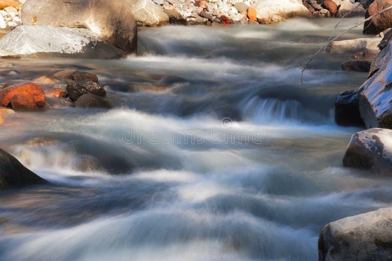 Tête de Sandy River Mt Hood National Forest images libres de droits