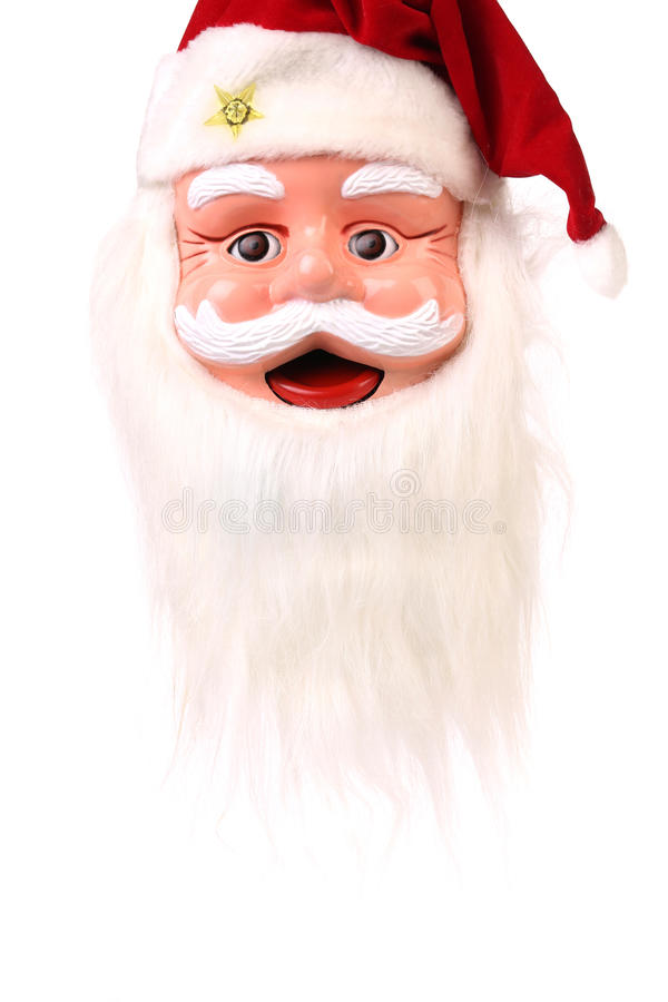 Tête de Santa Claus. photo libre de droits