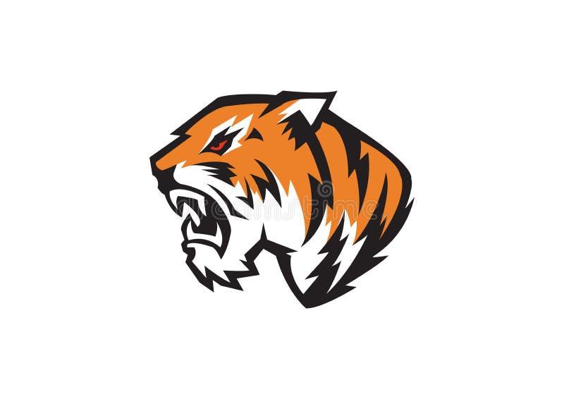 Tête de tigre illustration libre de droits