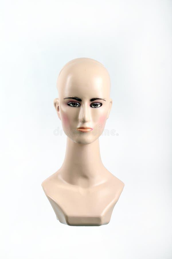 Tête en plastique de mannequin images libres de droits