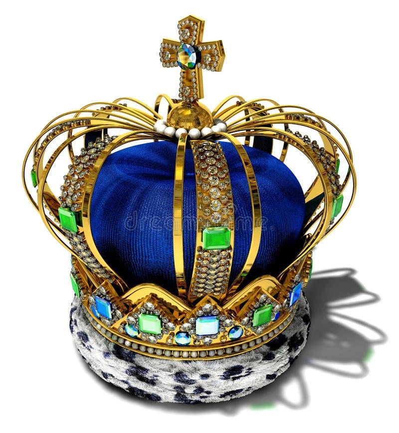 Tête royale image stock