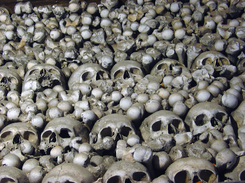 Têtes Mortes Photo libre de droits