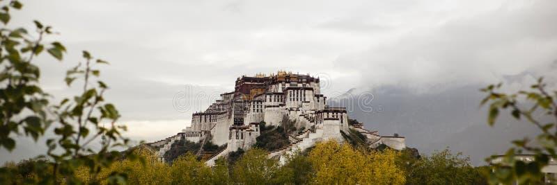 Tíbet: palacio del potala foto de archivo