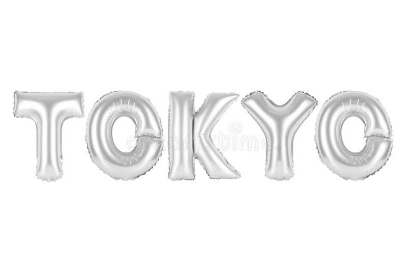 Tóquio, cor do cinza do cromo foto de stock royalty free