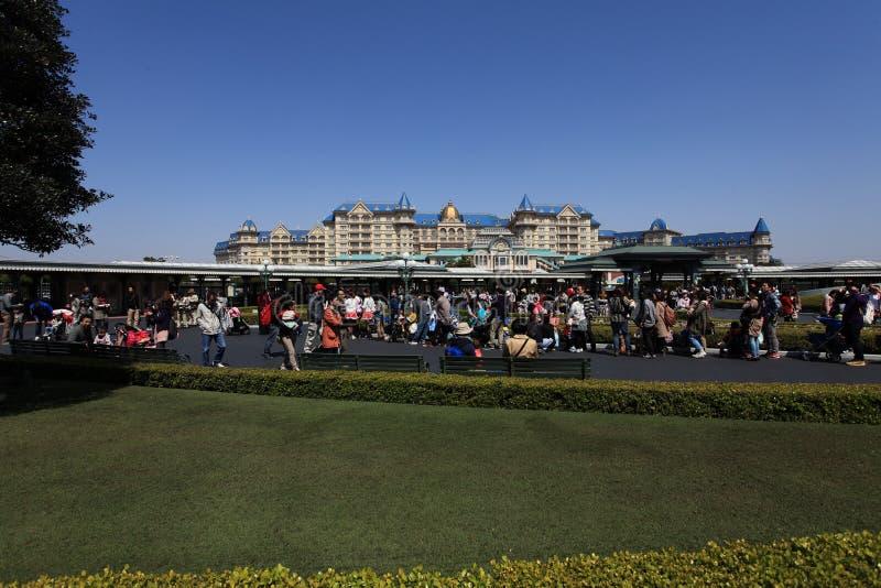 Tóquio Disneylândia, Japão imagem de stock royalty free