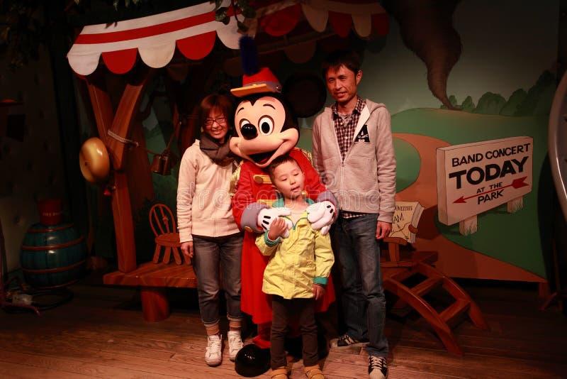 Tóquio Disneylândia, Japão imagens de stock royalty free