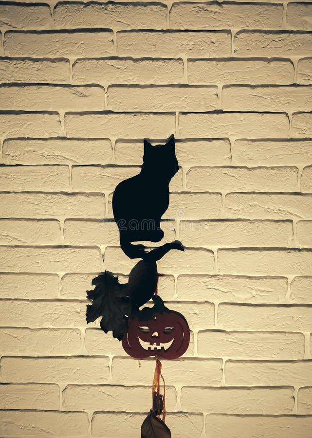 Tótem del animal de Halloween foto de archivo