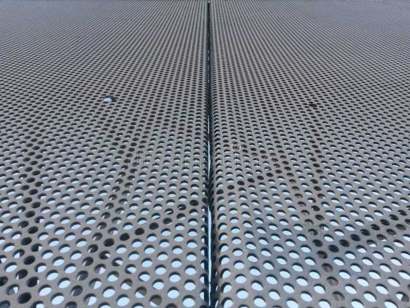 Tôles d'acier avec la translucidité photos stock