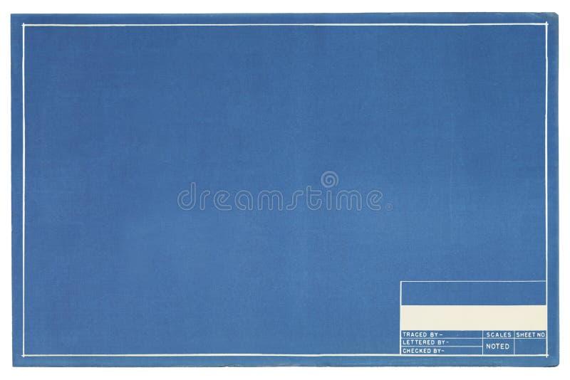 Töm ritningen arkivbilder