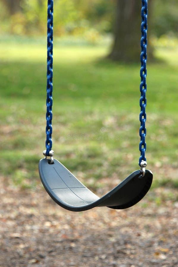 töm swing royaltyfri bild