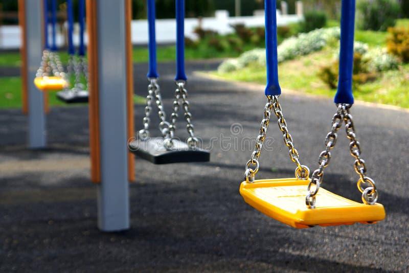 töm swing royaltyfria bilder