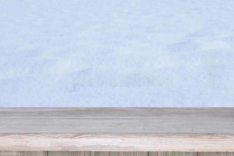 Töm tabellen och övervintra bakgrund royaltyfria foton