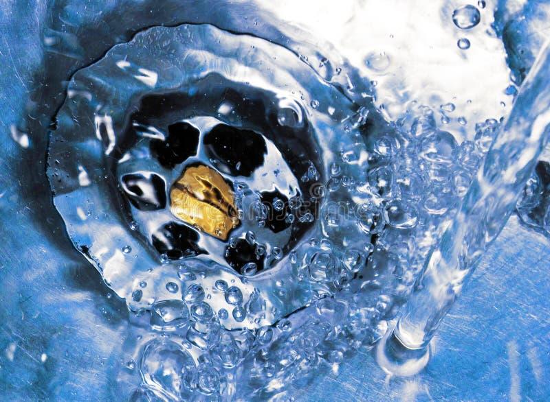 töm vatten arkivbild