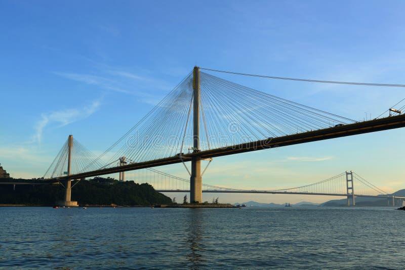 Tönen Sie Kau-Brücke stockfotos