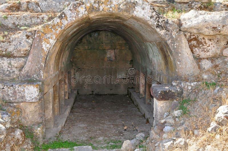 Túmulo de Charmylos fotografia de stock royalty free