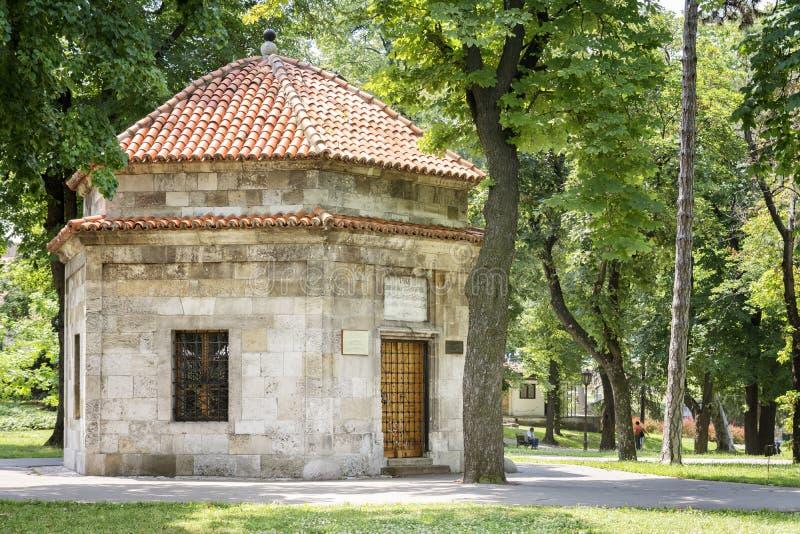 Túmulo de Damad Ali Pasha, Belgrado, Sérvia foto de stock