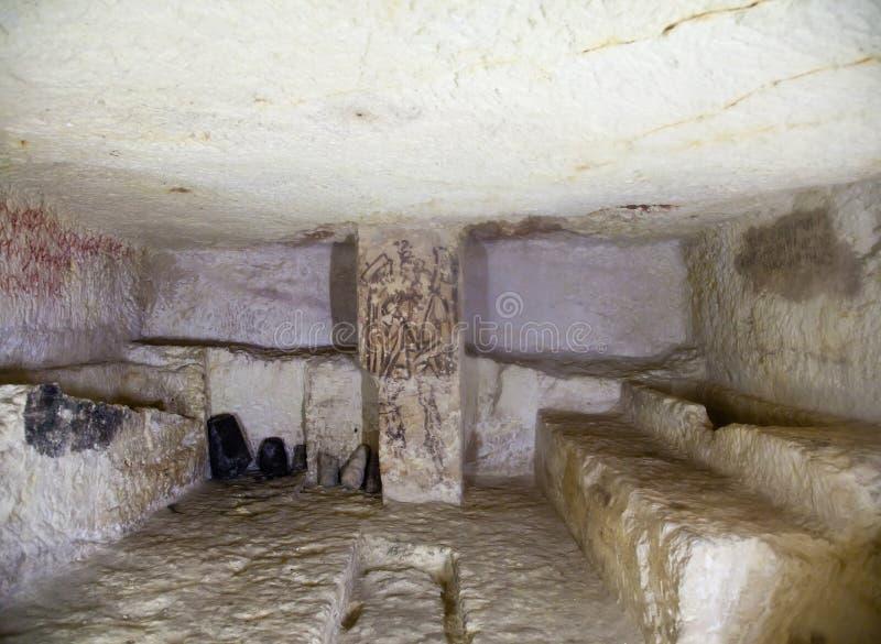 Túmulo de Etruscan foto de stock