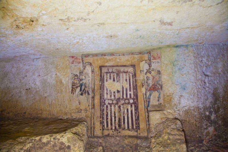 Túmulo de Etruscan imagem de stock