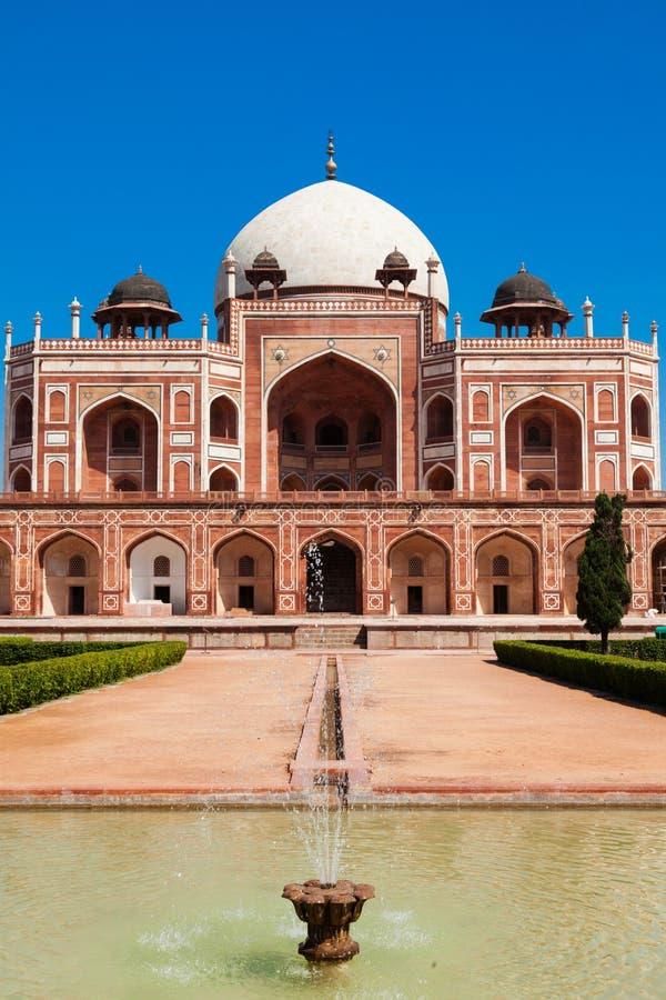 Túmulo de Humayun. Deli, India imagens de stock royalty free