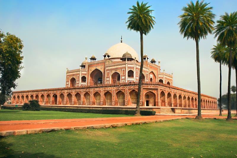 Túmulo de Humayun em Deli, India. foto de stock royalty free