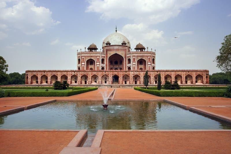 Túmulo de Humayun em India imagem de stock royalty free