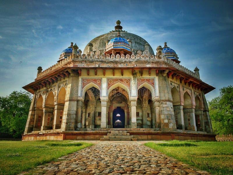 Túmulo de Isha khan fotografia de stock
