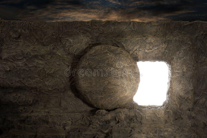 Túmulo de Jesus foto de stock royalty free