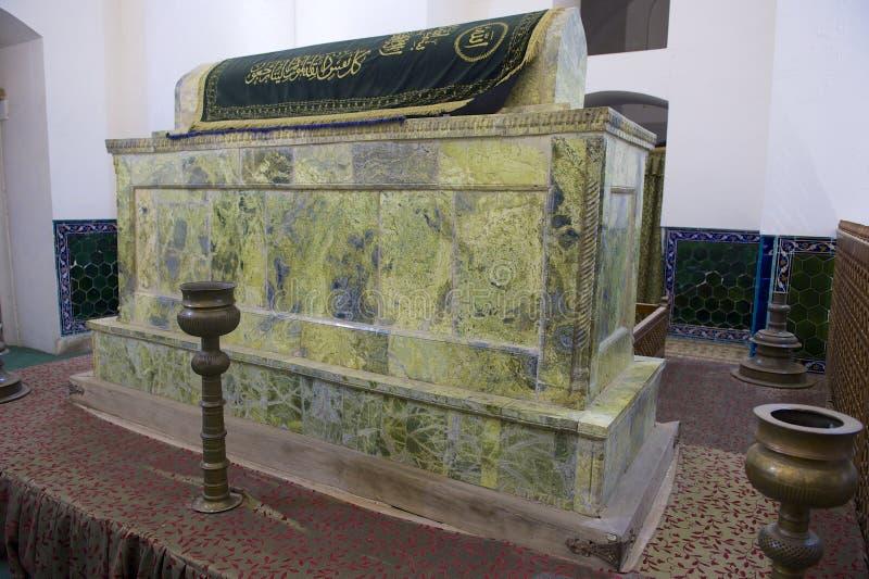 Túmulo de Khoja Ahmed Yasavi em Turkistan, Cazaquistão imagens de stock