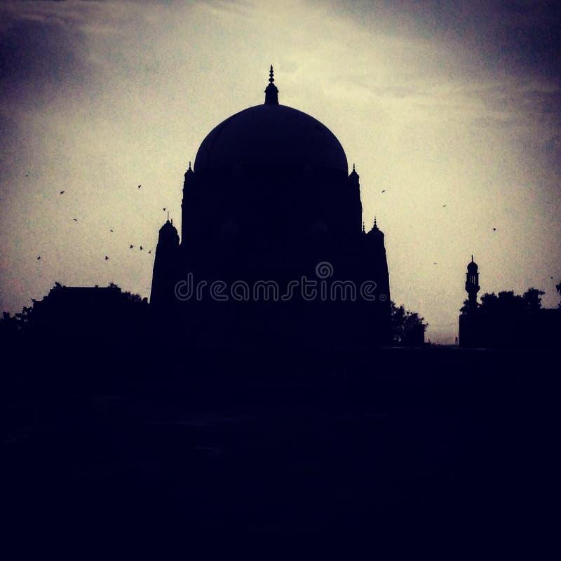 Túmulo de Rukn Aalam do xá em Multan fotografia de stock