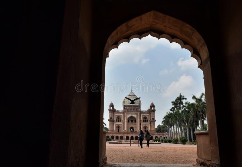 Túmulo de Safadarjung imagens de stock royalty free