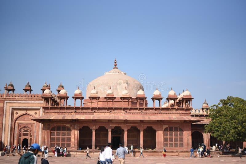 Túmulo do Islã Khan, Fatehpur Sikri, Uttar Pradesh imagem de stock royalty free