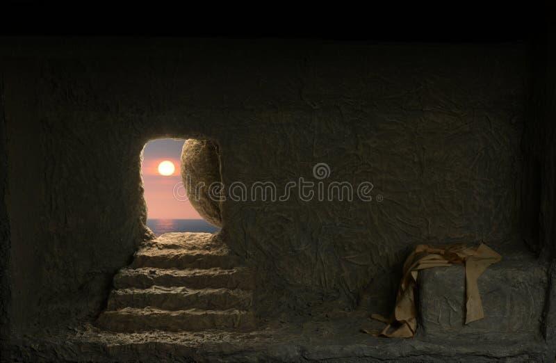 Túmulo do ` s de Jesus fotografia de stock