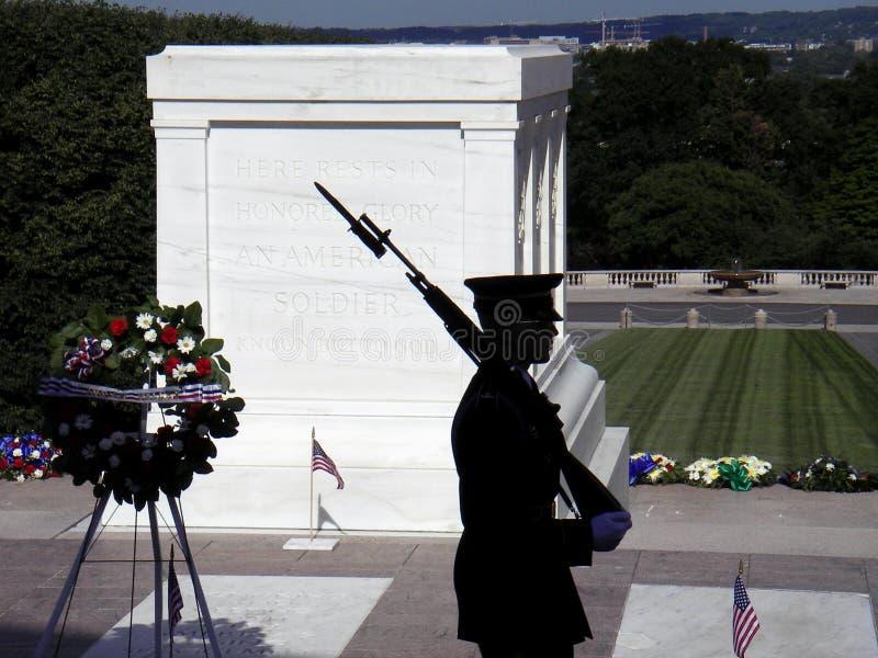 Túmulo do soldado desconhecido foto de stock royalty free