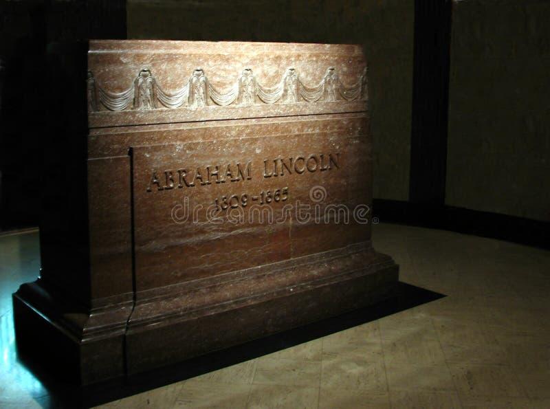 Túmulo e cripta de Lincoln foto de stock