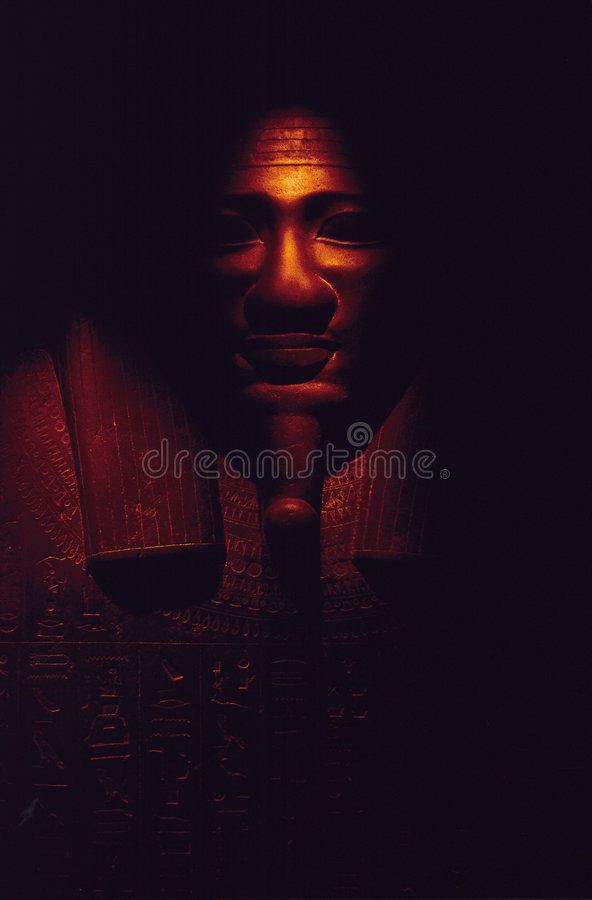 Túmulo egípcio antigo fotografia de stock royalty free