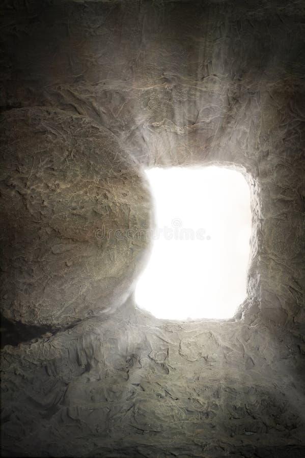 Túmulo vazio de Jesus imagens de stock royalty free
