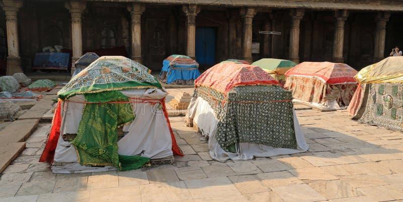 Túmulos das rainhas de Ahmed Shah foto de stock