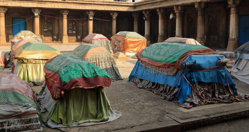 Túmulos das rainhas de Ahmed Shah 2 fotografia de stock royalty free