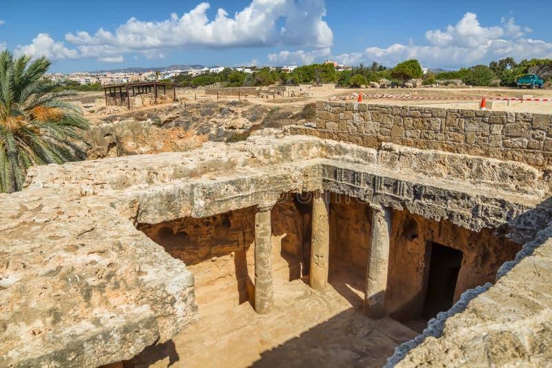 Túmulos dos reis imagens de stock royalty free