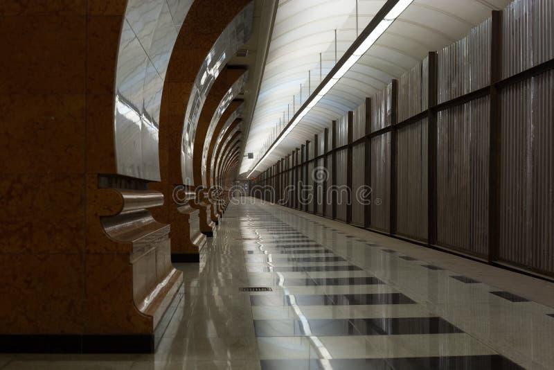 Túneis subterrâneos imagens de stock