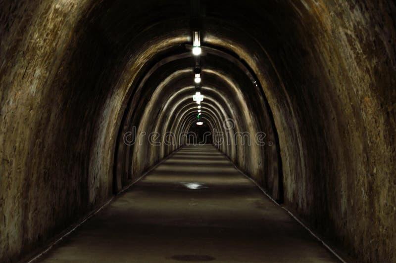 Túneis velhos foto de stock