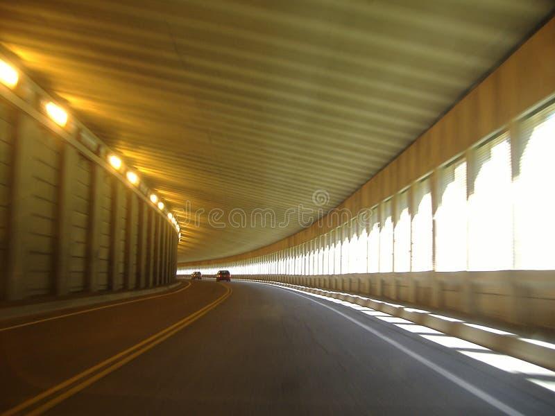Túnel foto de archivo