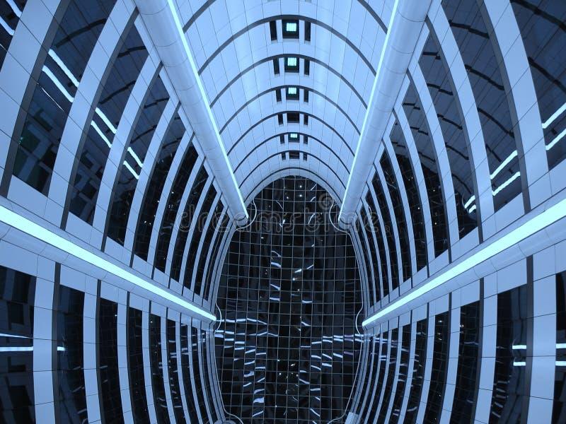 Túnel 2 ilustración del vector
